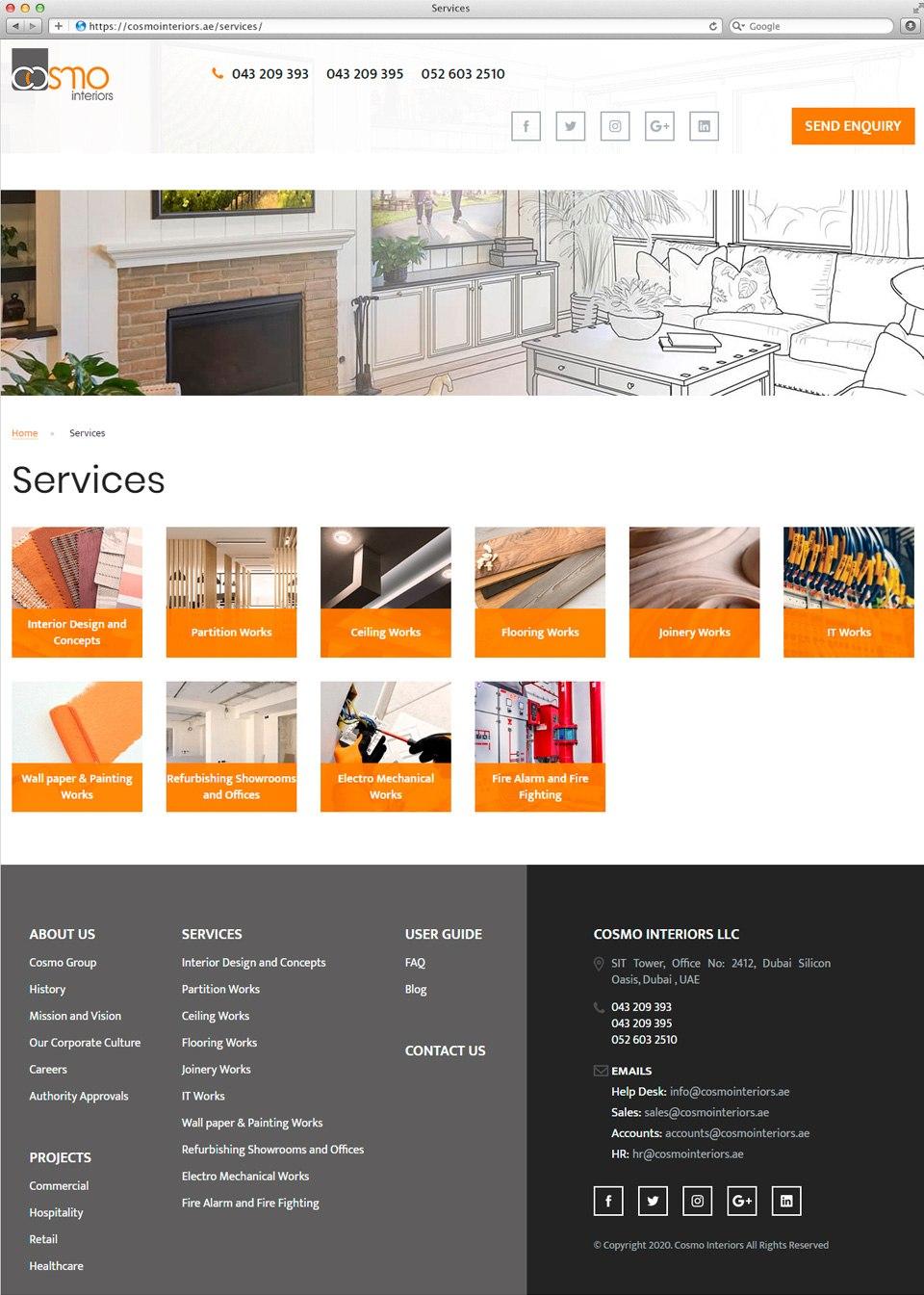 Cosmo Interiors | Beontop Portfolio Service Catalog